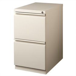 Pemberly Row 2 Drawer Mobile File Cabinet File in Putty