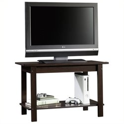 Pemberly Row TV Stand in Cinnamon Cherry Finish