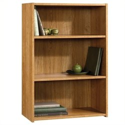 Pemberly Row 3 Shelf Bookcase in Highland Oak Finish