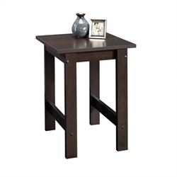 Pemberly Row End Table in Cinnamon Cherry Finish