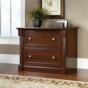 Pemberly Row Lateral File Cabinet in Select Cherry