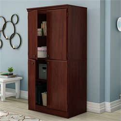 Pemberly Row Storage Cabinet in Royal Cherry