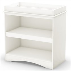 Pemberly Row Changing Table in Pure White