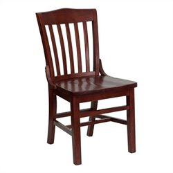 Pemberly Row School House Back Restaurant Dining Chair