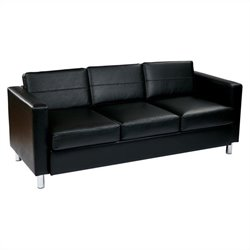 Pemberly Row Sofa in Black