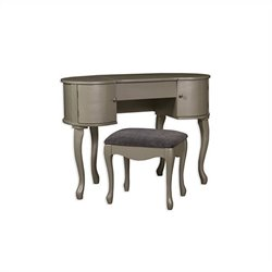 Pemberly Row Vanity Set in Silver