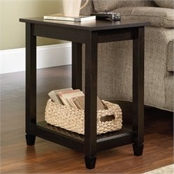 Pemberly Row Side Table in Estate Black