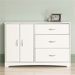 Pemberly Row Dresser in Soft White