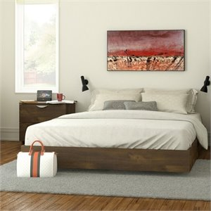 Pemberly Row Queen Size Platform Bed