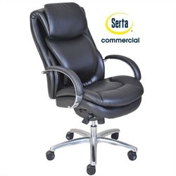 Pemberly Row Executive Office Chair in Black