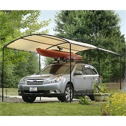 Pemberly Row 9'x16' Canopy in Sandstone