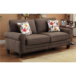 Pemberly Row Sofa in Brindle Bronze