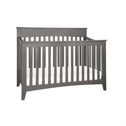 Pemberly Row 4 in 1 Convertible Crib in Slate