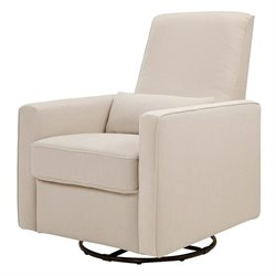 Pemberly Row All-Purpose Recliner in Cream
