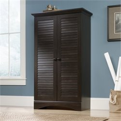 Pemberly Row Storage Cabinet in Antique Brown
