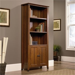 Pemberly Row 3 Shelf Bookcase in Washington Cherry