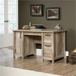 Pemberly Row Computer Desk in Lintel Oak