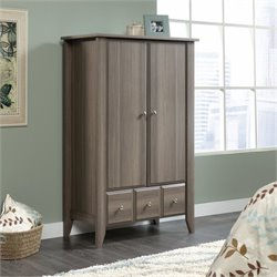 Pemberly Row Armoire in Diamond Ash