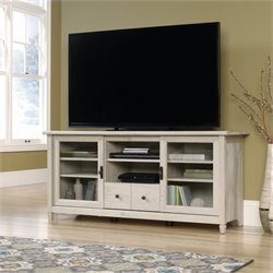 Pemberly Row TV Stand in Chalked Chestnut