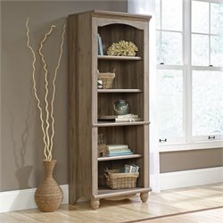 Pemberly Row 5 Shelf Bookcase in Salt Oak