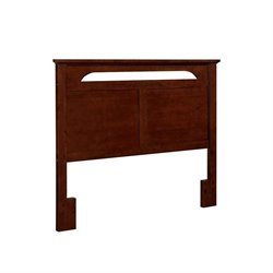 Pemberly Row Full Queen Panel Headboard in Cherry