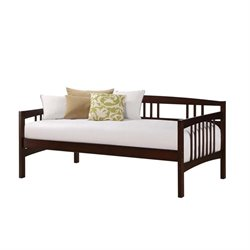 Pemberly Row Twin Daybed in Brown