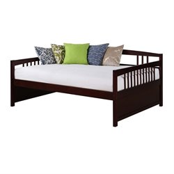 Pemberly Row Full Daybed in Espresso