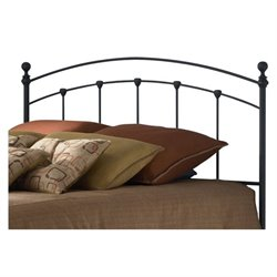 Pemberly Row Full Spindle Headboard in Black