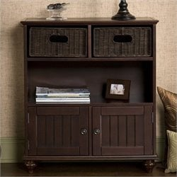 Pemberly Row Storage Console in Rich Espresso