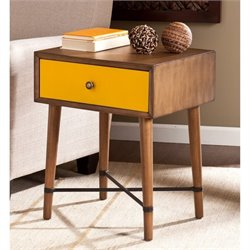 Pemberly Row Accent Table in Yellow