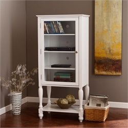 Pemberly Row Storage and Display Tower in White