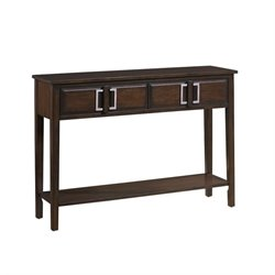 Pemberly Row Console Table in Brown