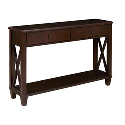 Pemberly Row Console Table in Cherry