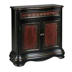 Pemberly Row Drawer Chest in Black Cherry