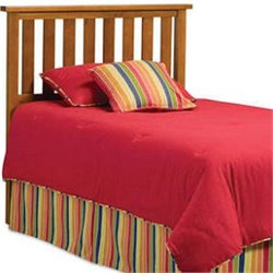 Pemberly Row Twin Slat Headboard in Maple