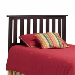 Pemberly Row Full Queen Slat Headboard in Merlot