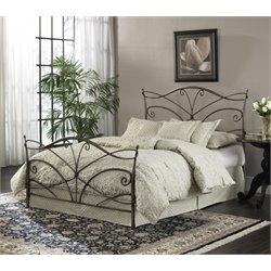 Pemberly Row California King Bed in Brushed Bronze