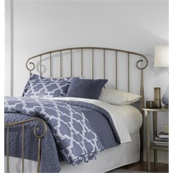 Pemberly Row Full Headboard in Gold