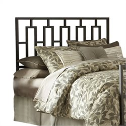 Pemberly Row Queen Spindle Headboard in Coffee