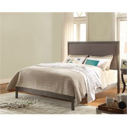 Pemberly Row Bed in Steel Gray