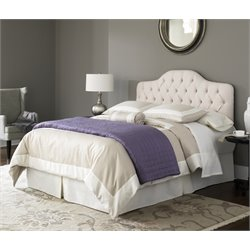 Pemberly Row Twin Bed in Ivory