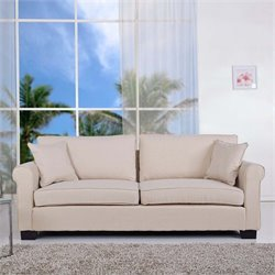 Pemberly Row Sofa in Beige