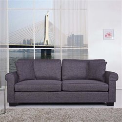 Pemberly Row Sofa in Dark Gray