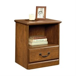 Pemberly Row Nightstand in Milled Cherry