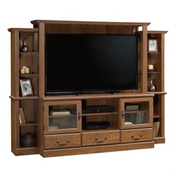Pemberly Row Entertainment Center in Milled Cherry
