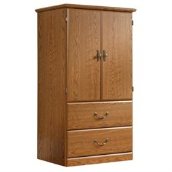 Pemberly Row Armoire in Carolina Oak