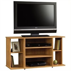Pemberly Row TV Stand in Highland Oak