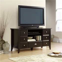 Pemberly Row TV Stand in Jamocha Wood