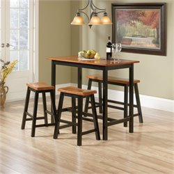 Pemberly Row 4 Piece Counter Height Set