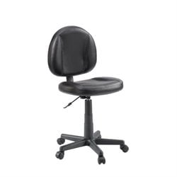 Pemberly Row Office Chair in Black